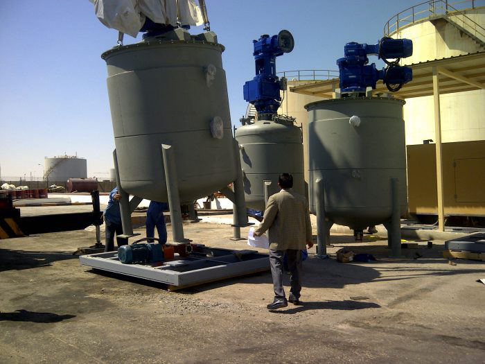 Ryland Research Grease Kettle Unloading in Qatar
